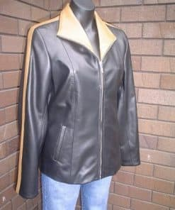 Elle Female Leather Dress Jacket