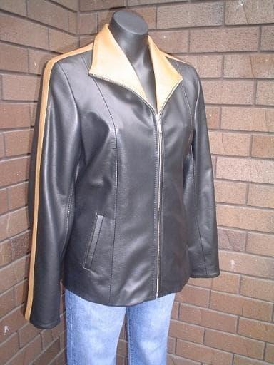 Elle Female Leather Dress Jacket