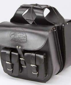 Leather Saddle Bag 02