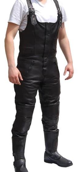 Leather Bib Overalls Leather Image