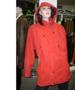 Female Hooded Anorak Jacket
